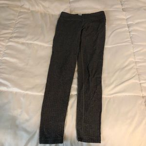 Ivivva dark gray jacquard leggings